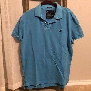 Vintage American Eagle Medium Athletic Polo Shirt